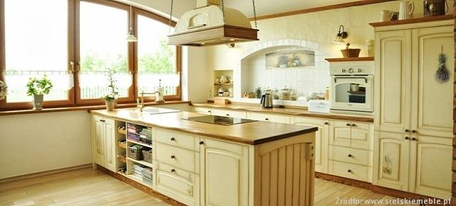 Meble Kuchenne Klasyczne Drewniane Kuchnie W Stylu Retro Kuchnie  Car Interi