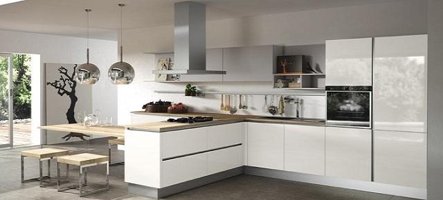 Nowoczesna czy klasyczna? Wybierz styl swojej kuchni  nowoczesne kuchnie  -> Kuchnie Nowoczesne Lakierowane Z Wyspą