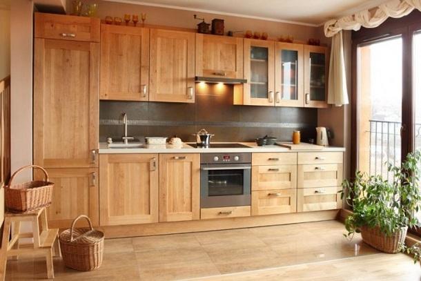 Mebla kuchenne: Meble drewniane kuchenne