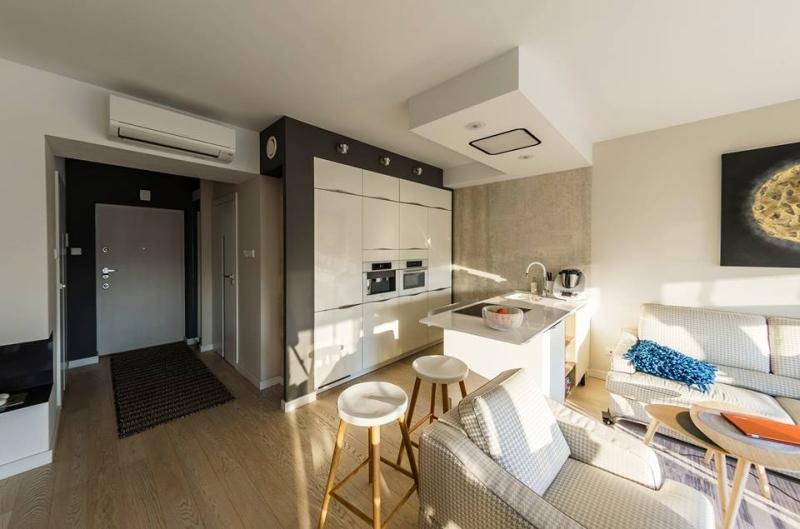 Kuchnia otwarta na salon – 6 nowoczesnych aranżacji  -> Kuchnia Ikea Czas Oczekiwania