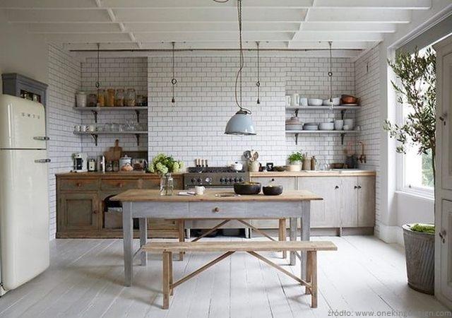 Kuchnia w stylu skandynawskim  nowoczesne kuchnie  projekty, forum  meble
