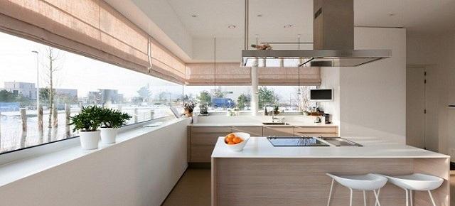 Jak zaaranżować okno kuchenne? - nowoczesne kuchnie - projekty, forum - meble kuchenne, kuchnie ...