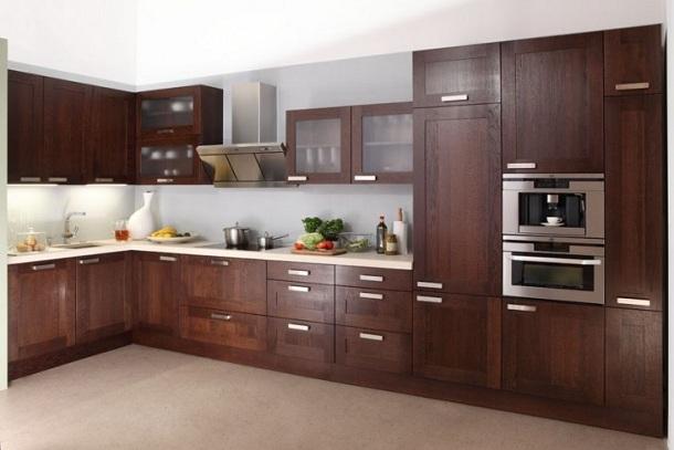 Meble kuchenne z drewna  jaki gatunek drewna wybrać?  nowoczesne kuchnie
