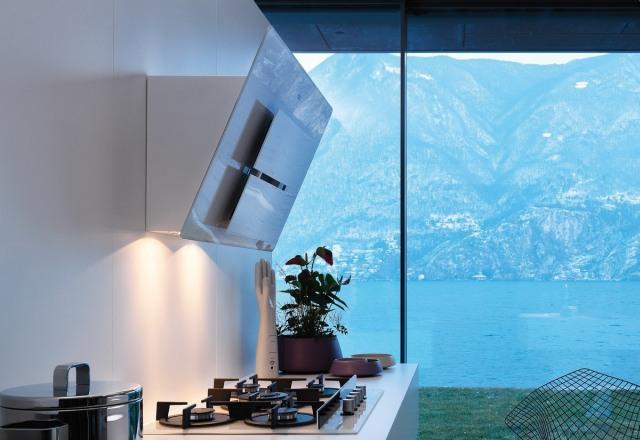 nowe szklane okapy maris plus od franke. Black Bedroom Furniture Sets. Home Design Ideas