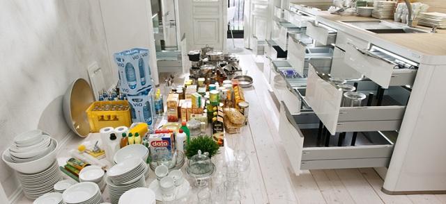 Kuchnia Nolte szuflady