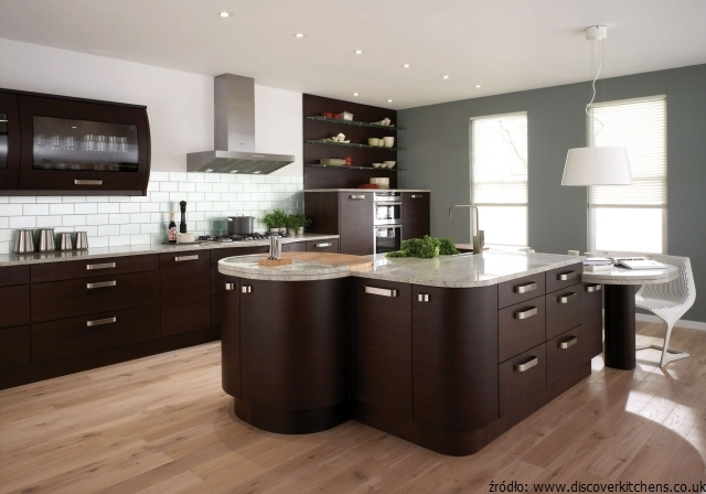 paint colors for kitchens with dark brown cabinets kuchnia wenge meble kuchenne wenge egzotyczny kolor w 24249