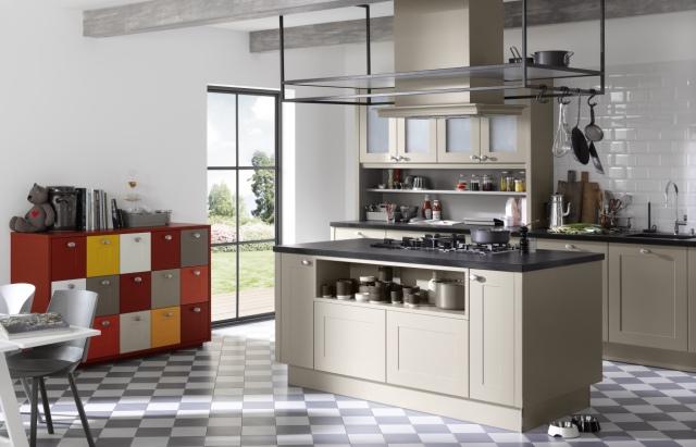 Kolor w natarciu – nowoczesne kuchnie z barwnymi   -> Kuchnie Nolte Fronty