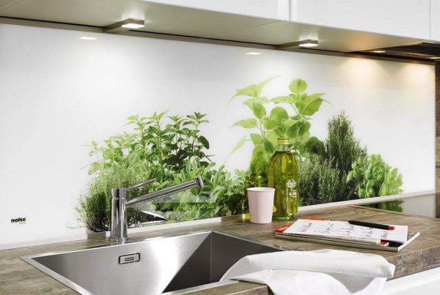 najmodniejsze sposoby wyko czenia ciany nad blatem. Black Bedroom Furniture Sets. Home Design Ideas