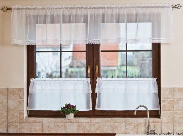 Okno Kuchenne Okno W Kuchni Nowoczesnej Aranżacja Wystrój