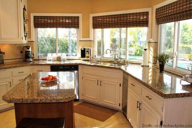 Inne rodzaje Okno kuchenne, okno w kuchni nowoczesnej - aranżacja, wystrój OM72