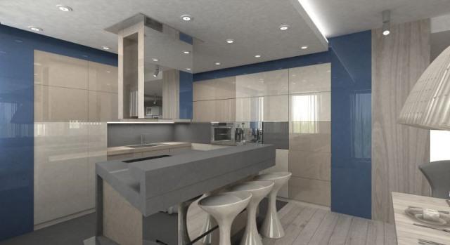 Groovy Szkło lakierowane w kuchni - kuchnieportal.pl NZ73