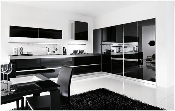 Czarno-biała-kuchnia