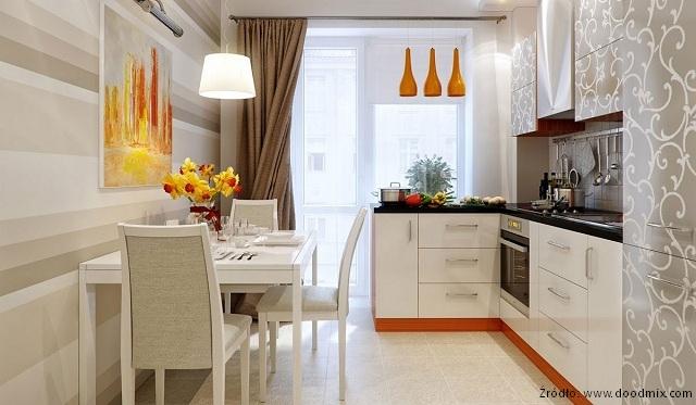 Kącik jadalniany w kuchni