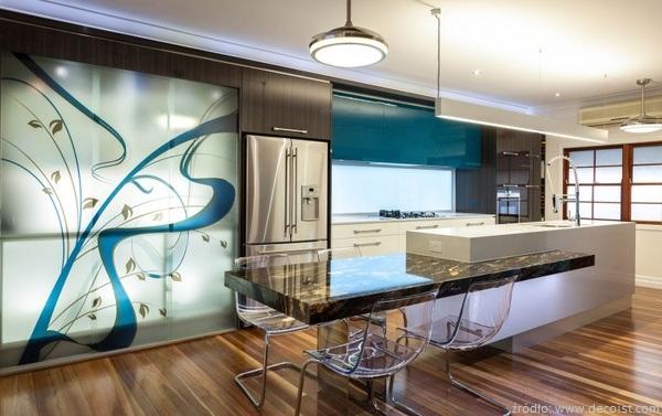 Pod oga w kuchni drewniana pod oga w kuchni for Best kitchen designs 2014