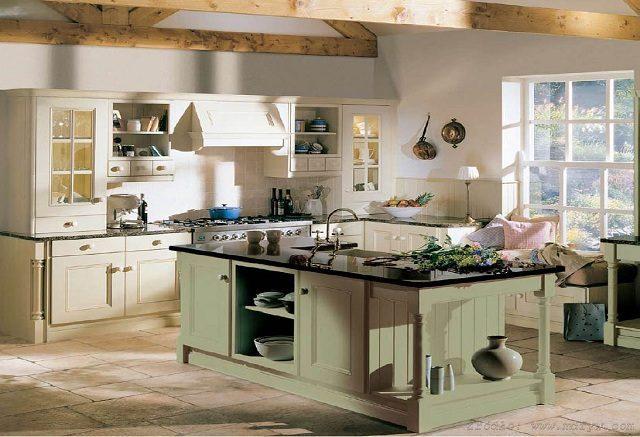 Rustykalna kuchnia  sposoby na aranżację  kuchnieportal pl