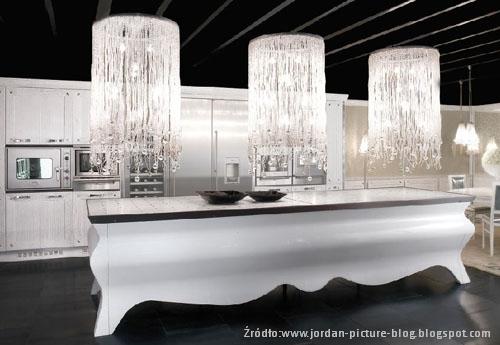 Kuchnia wstylu glamour