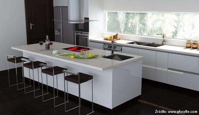Kuchnia w stylu minimalistycznym  kuchnieportal pl -> Kuchnia Z Pomyslem Brodnicki