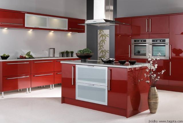 Meble kuchenne lakierowane  kuchnieportal pl