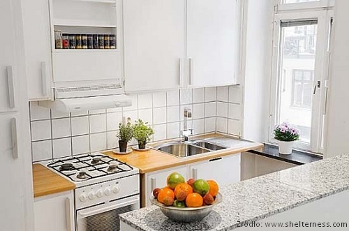 Aranżacje ma małej kuchni