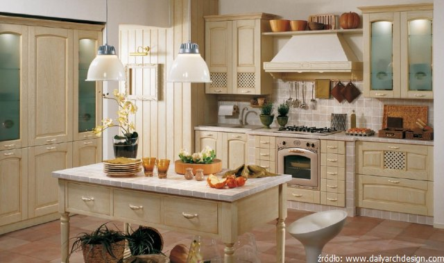 Przytulne i klimatyczne meble kuchenne retro  kuchnieportal pl -> Kuchnia Retro Ecru