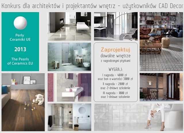 Konkurs dla architektów i projektantów Perły Ceramiki 2013