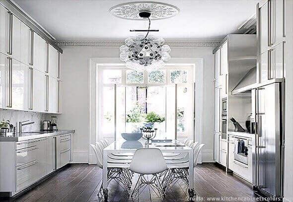 Styl glamour w aranżacjach kuchennych  kuchnieportal p -> Kuchnia W Stylu Glamour Galeria