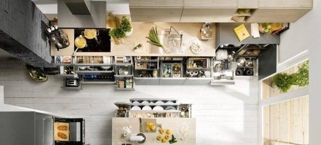 Nowoczesne wyposażenie mebli kuchennych