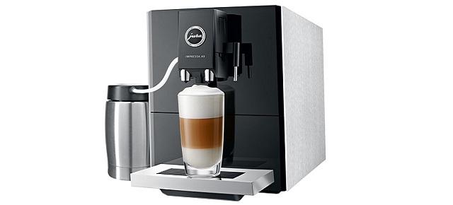 Latte macchiato doppio i inne specjały kawowe z ekspresem JURA IMPRESSA A9