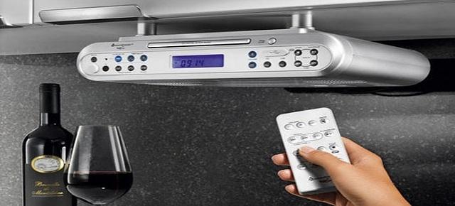 Jakie radio do kuchni – wolnostojące, do zabudowy czy podwieszane ?