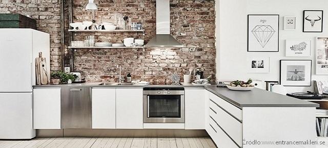 Kuchenne wnętrza inspirowane skandynawskim stylem!