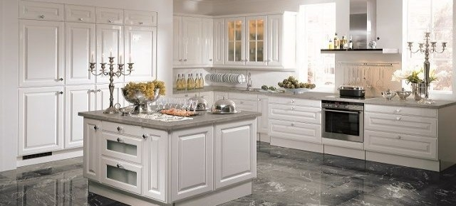Kuchnia w stylu klasycznym: piękna i funkcjonalna