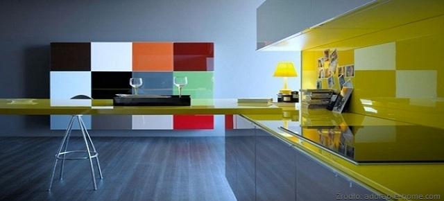 Kuchnia projektowana kolorem
