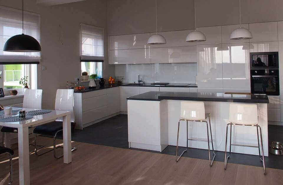 Kuchnia Otwarta Na Salon Aranżacja Kuchni Z Salonem