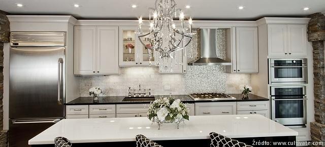 Styl glamour w aranżacjach kuchennych
