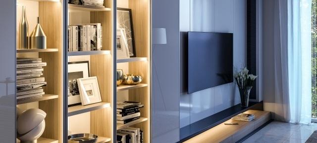 Wnętrze w dobrym świetle – profile GLAX do taśm LED od GTV