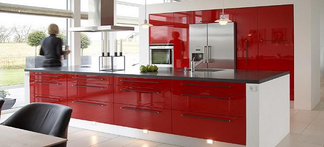 Czerwona kuchnia Rubi Meble najlepszym projektem stycznia!