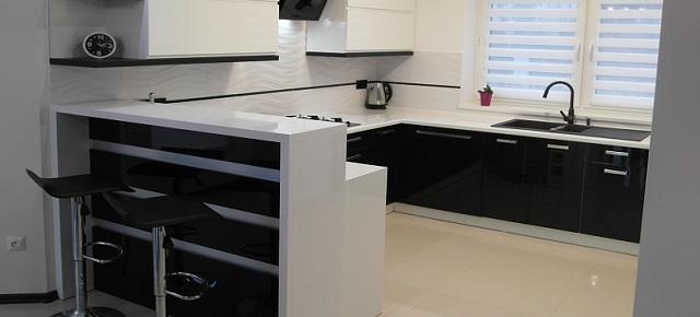 Czarno-biała kuchnia firmy Margo realizacją miesiąca!