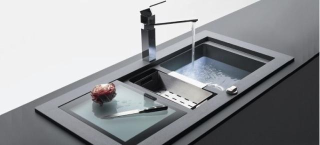 Modne zlewozmywaki w nowoczesnej kuchni