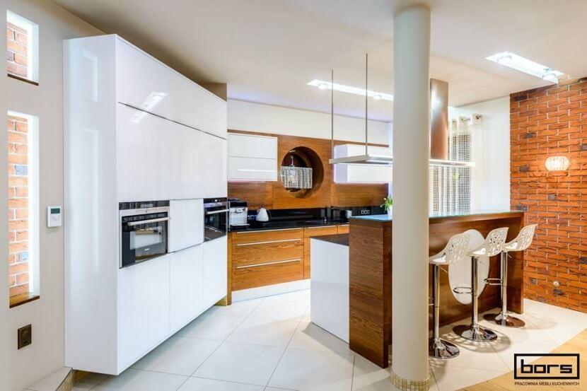Kuchnie otwarte na salon - kuchnia z wyspą