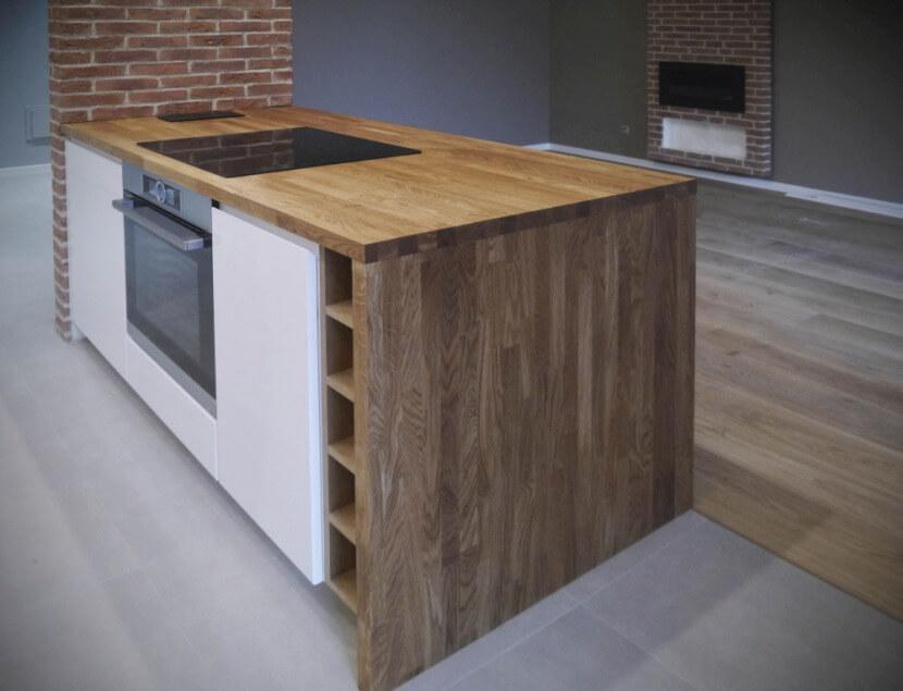 Drewno – naturalny i trwały materiał na blaty kuchenne