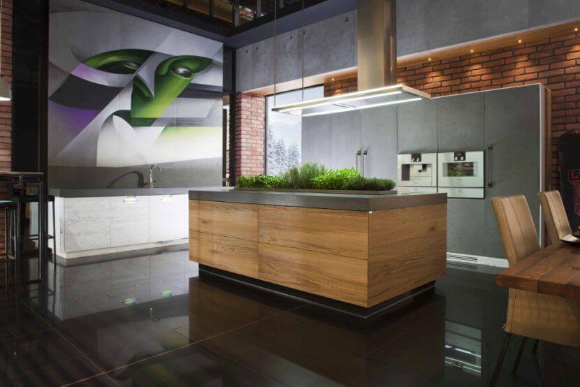 Kuchnia na miarę Twoich potrzeb z betonowymi frontami