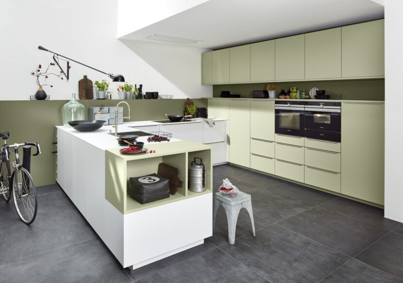 Materiały na fronty kuchenne - fronty lakierowane