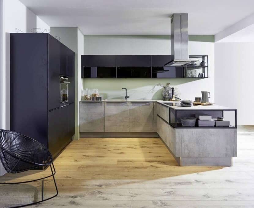 Materiały na fronty kuchenne - lakierowany laminat