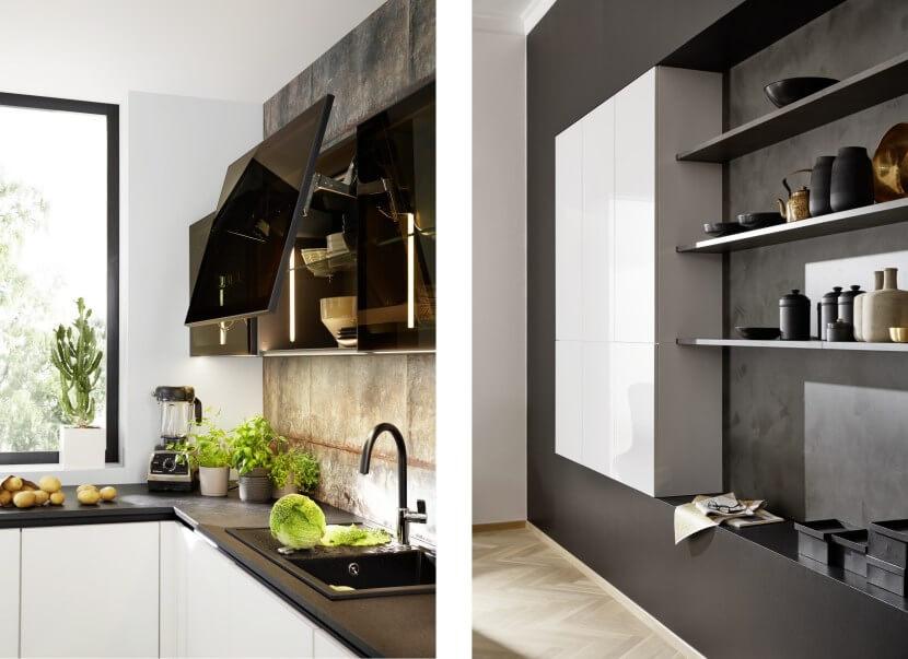 Materiały na fronty kuchenne - szkło