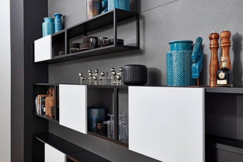 Nowatorskie rozwiązania do kuchni - regał Cube