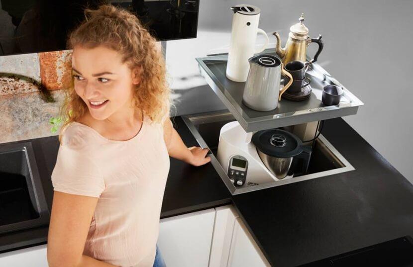Nowatorskie rozwiązania dla kuchni - szafka na thermomix