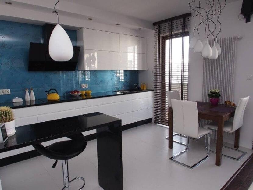 Nowoczesne kuchnie w bieli