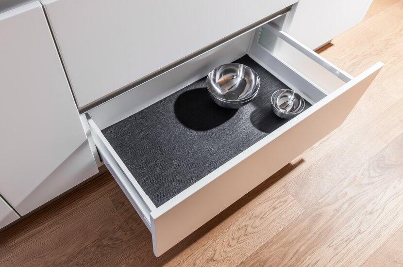 Wkłady do szuflad - maty antypośłlizgowe