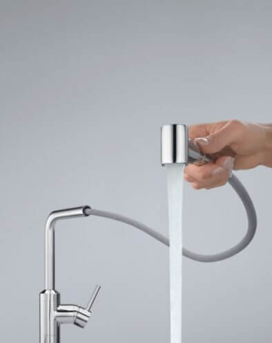 Kuchnia ergonomiczna - bateria kuchenna