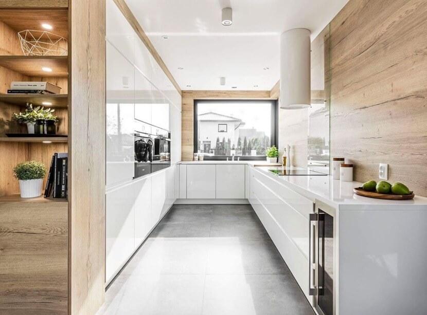 Baster Kuchnie - widok całej kuchni